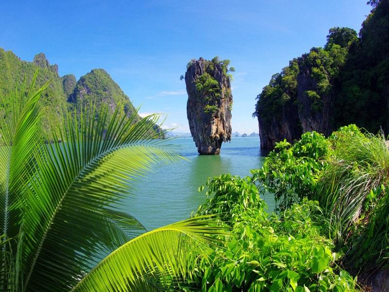 جزیره جیمز باند (James Bond Island) پوکت تایلند