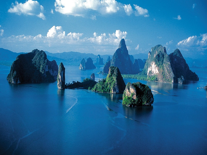 خلیج فانگ نا (Phang Nga Bay) پوکت تایلند